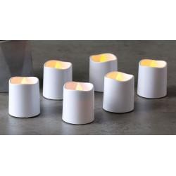 """LED šviečianti žvakė """"Liepsna"""" (Šiltai balta)"""