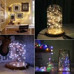 LED lempučių girlianda su baterijomis (AA)