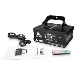Animacinis RGB projektorius su ANDROID programa (500mW)