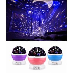 """LED naktinė lemputė - projektorius """"Star Master"""""""