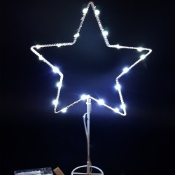 """LED dekoracija """"Žvaigždė"""" Kalėdoms"""