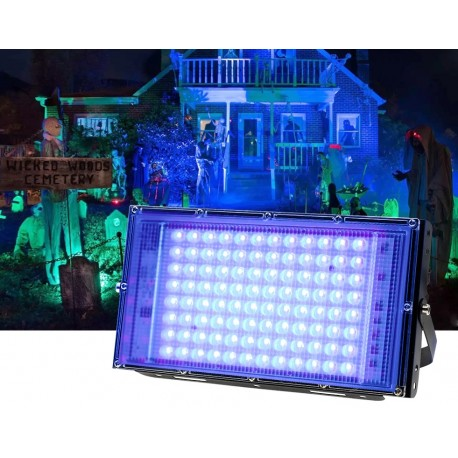 LED ultravioletinis šviestuvas (UV, 100W)