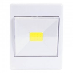 LED šviestuvas su baterijomis ir dimeriu