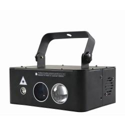 Lazerinis projektorius Aurora su LED pašvietimu