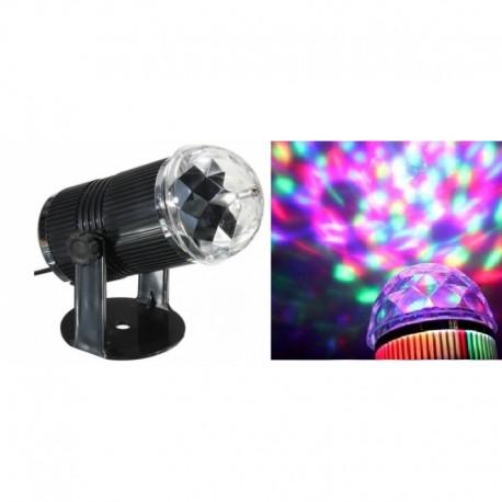 "LED šviesos efektas ""DISKO"" RGB, 3 W"