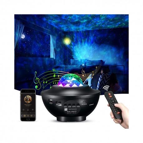 LED žvaigždžių ir galaktikų projektorius su lazeriu