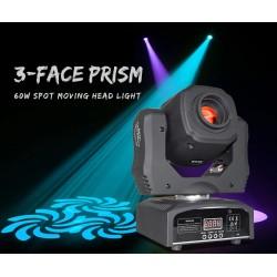 "LED judanti galva ""Spot"", 60W su prizme"