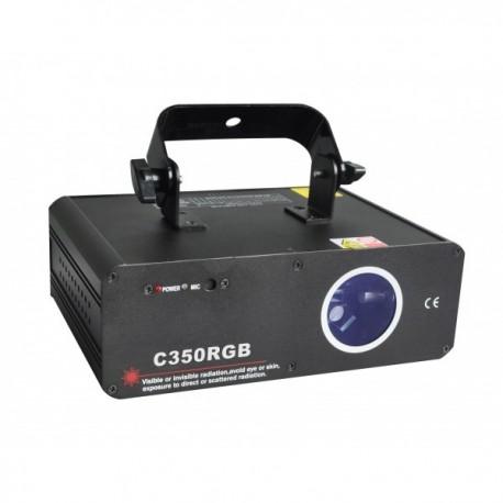 Lazerinis projektorius (RGB, 360mW)