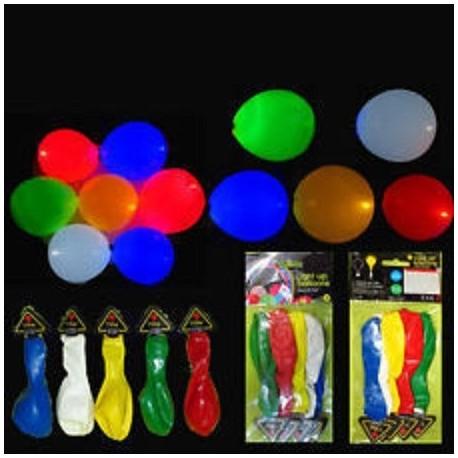 LED šviečiantys balionai