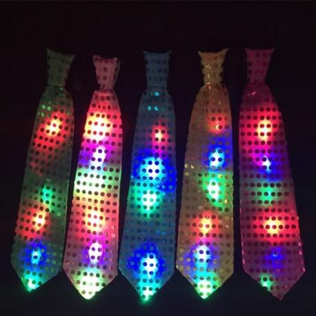 LED šviečiantis kaklaraištis