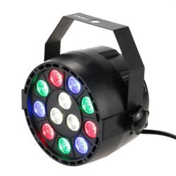 "LED PAR prožektorius ""MINI"" (RGBW, 12W)"
