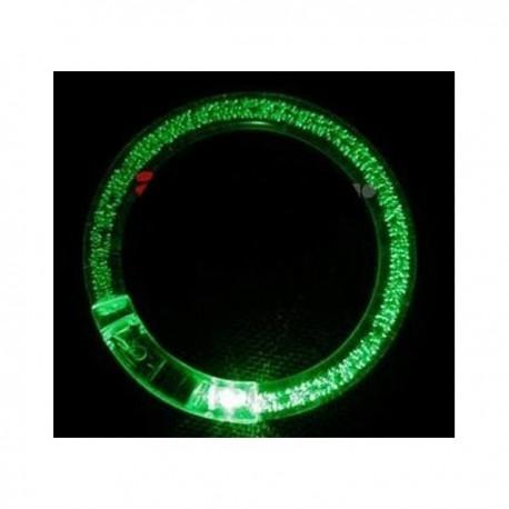 LED šviečianti apyrankė (Kieta, plastikinė)