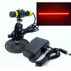 Raudonas linijinis - pozicionavimo lazeris (100mW)