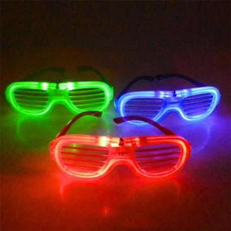 LED šviečiantys akiniai