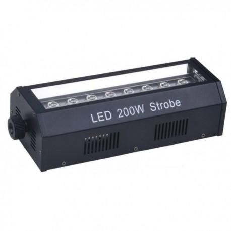 LED stroboskopas - blykstė, 200W (DMX)