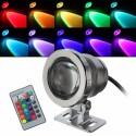 LED povandeninis - lauko prožektorius (RGB, 10W)