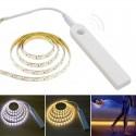 LED šviestuvas su judesio davikliu ir baterijomis (60-120 LED)