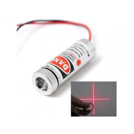 Raudonas linijinis lazerio modulis (5mW)