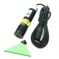 Žalias linijinis - pozicionavimo lazeris (30mW)