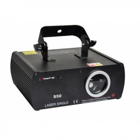 Žaliasis lazerinis projektorius (50mW, DMX)