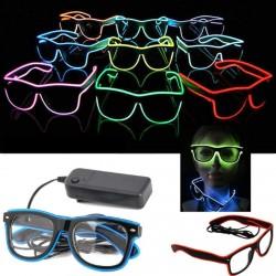 LED šviečiantys akiniai (Su neoniniu laidu)