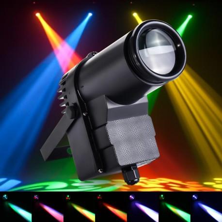 "LED prožektorius ""Pinspot"" (15W, RGBW, DMX)"