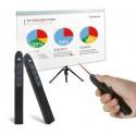 Belaidis prezentacijų valdiklis su lazeriu (Raudonas, 5mW)