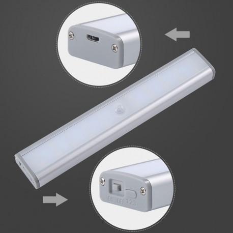 LED įkraunamas šviestuvas su judesio davikliu (20 LED)