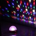 "LED šviesos efektas ""Kristalinis rutulys"" RGBW, 12W"