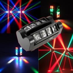 "LED šviesos efektas ""Mini Spider"" RGBW"