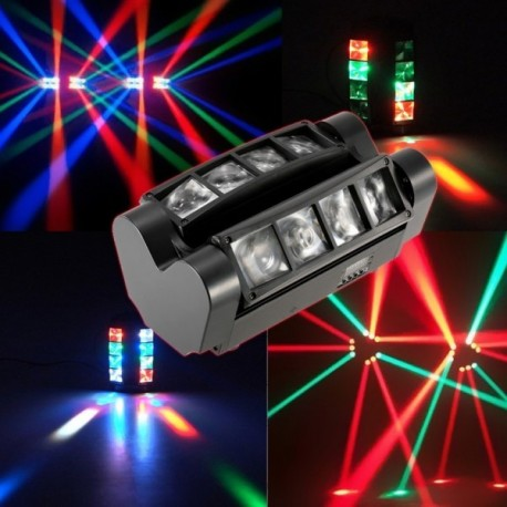 """LED šviesos efektas """"Mini Spider"""" RGBW, 90W"""