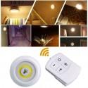 LED šviestuvai su baterijomis ir nuotoliniu valdymu (3 vnt.)