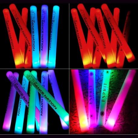 LED šviečianti lazda (Minkšta, 40cm.)