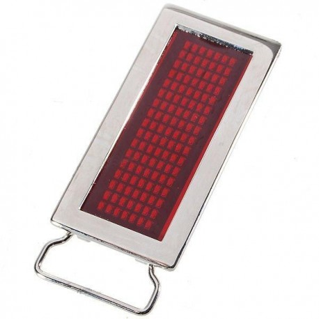 LED diržo sagtis - tekstinis ekranas