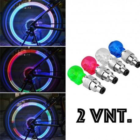 """LED ventiliai """"Kaukolė"""" (2vnt.)"""