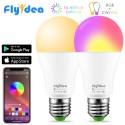 LED daugiaspalvė + šiltai balta, išmanioji  lemputė su Bluetooth