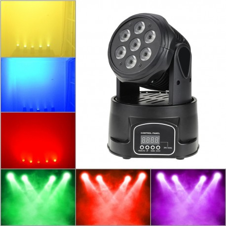 "LED judanti galva ""Wash"" (70W)"