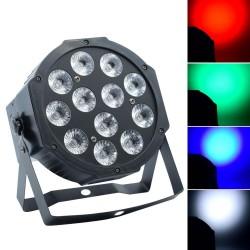 "LED PAR prožektorius ""SLIM"" (RGBW, 144W)"