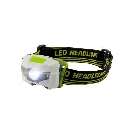 LED prožektorius tvirtinamas ant galvos
