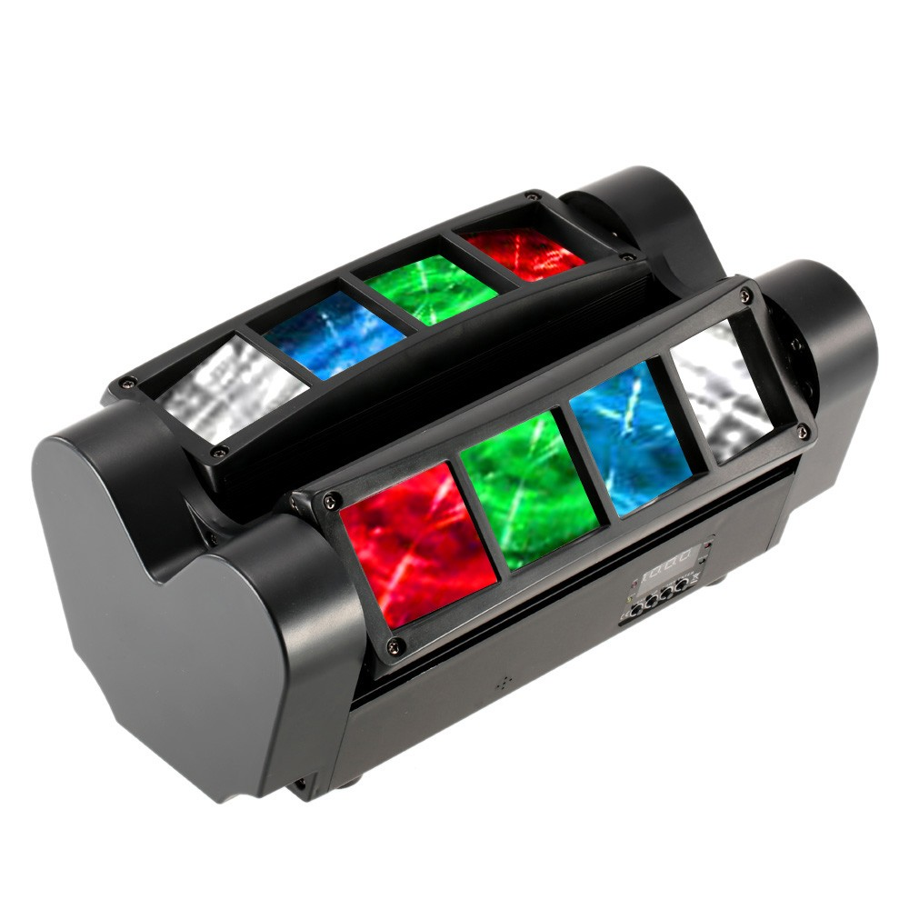 LED sviesos efektas mini spider nuoma