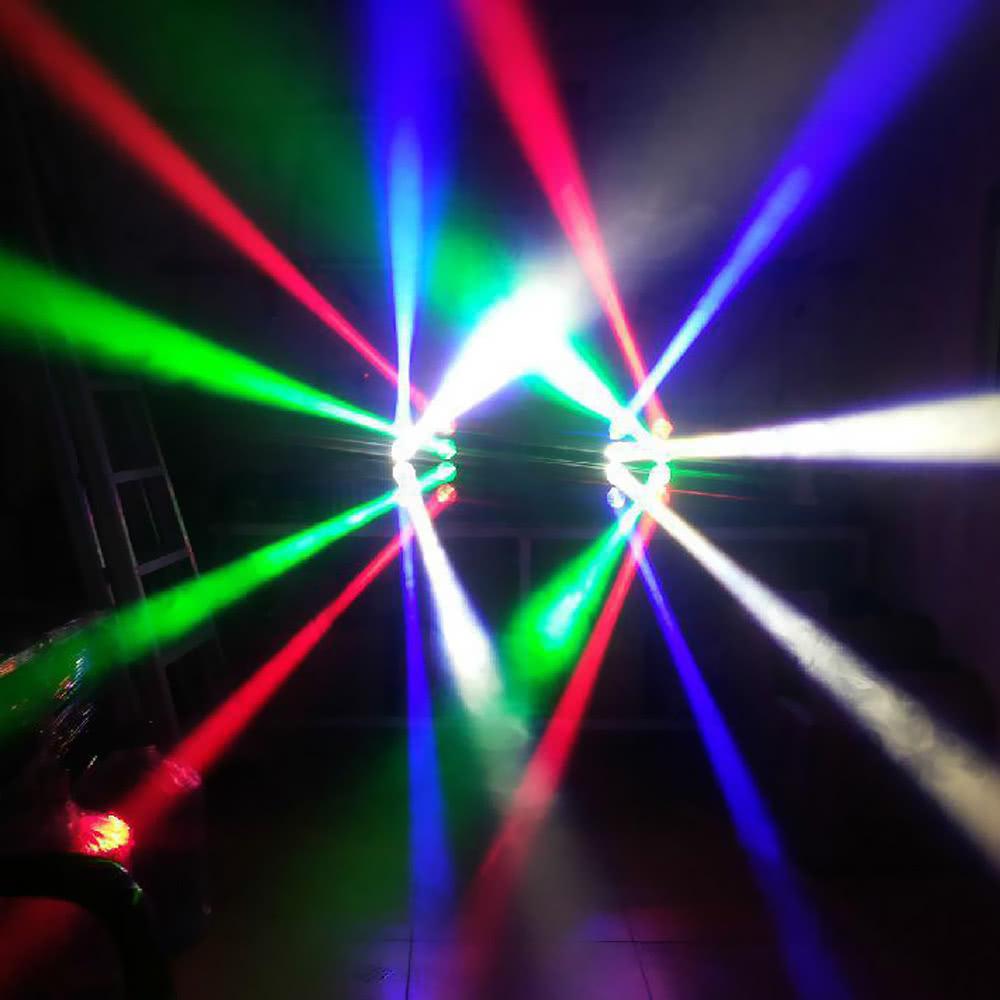 LED sviesos efektas mini spider led