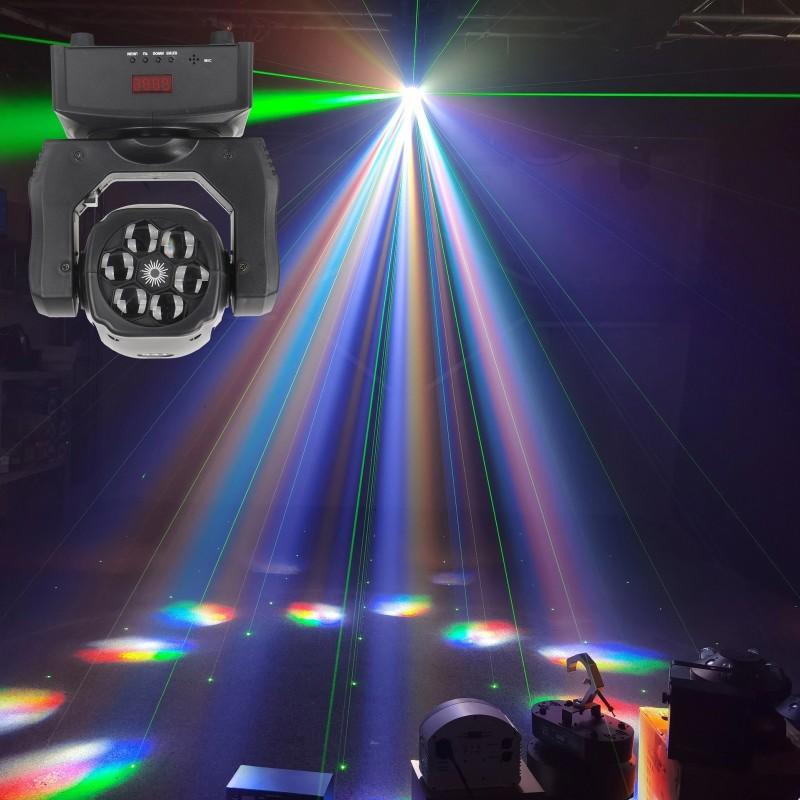 LED judanti galva bee eyes pardaviomas nuoma