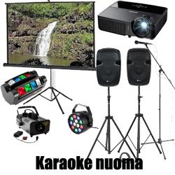 karaoke nuoma kaune